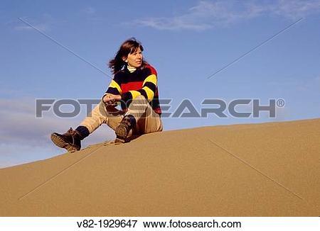 Picture of Dune crest, Umpqua Dunes Scenic Area, Oregon Dunes.