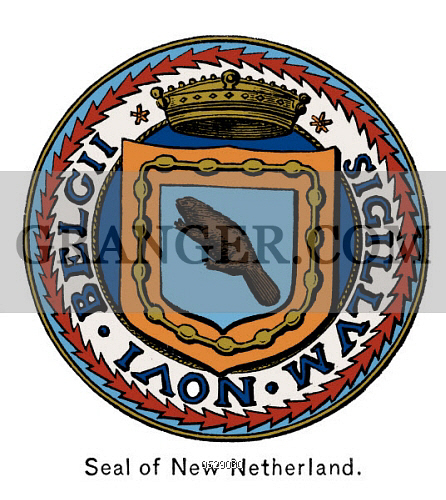 Image of SEAL OF NEW NETHERLAND..