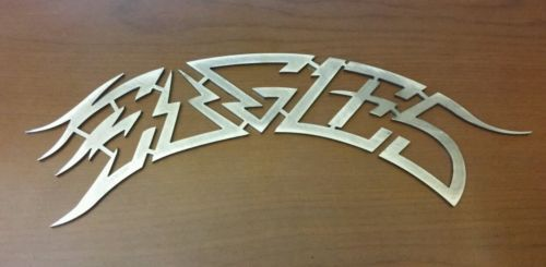 Eagles Lot Of 2 Signs Emblems American Band Logo 70s 80s Don.