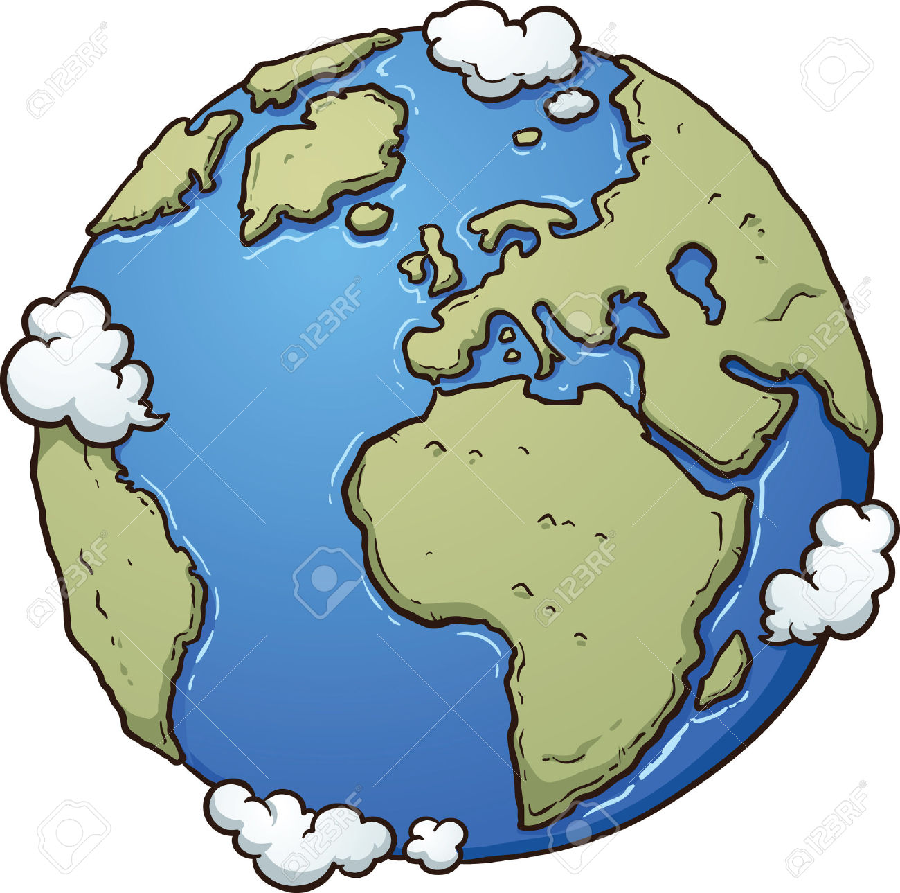 The earth's atmosphere clipart #18