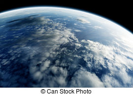The earth's atmosphere clipart #19