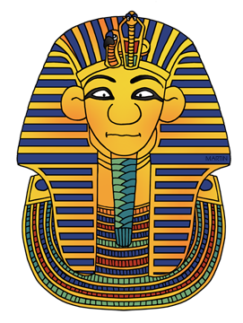 Ancient egyptians clipart.