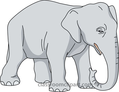 Elephant Clipart For Kids.