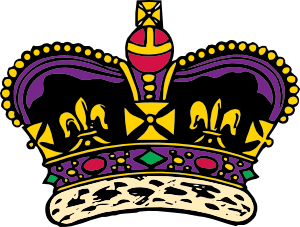 Emperor crown clipart.