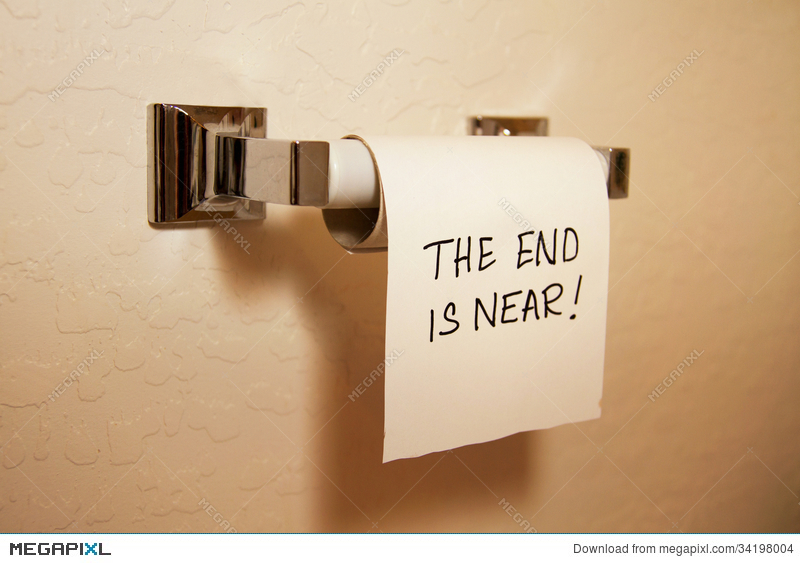 The End Is Near! Stock Photo 34198004.