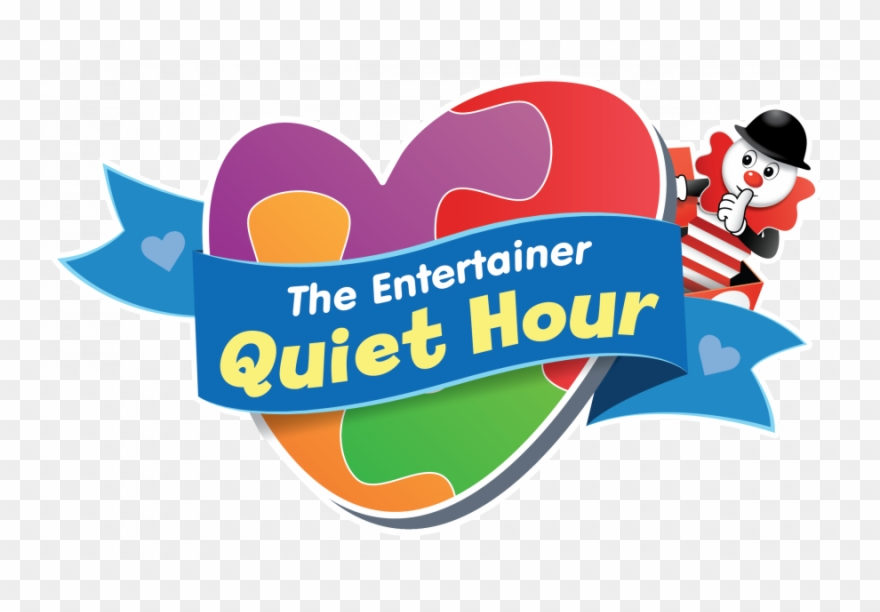 The Entertainer Quiet Hour Logo.