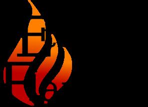 B&w, Flame Logo, Eternal Flame Clip Art at Clker.com.