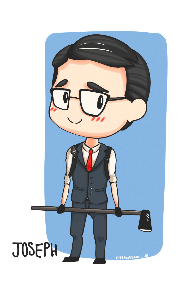 The Evil Within Fanart Dump 1: Chibi Joseph by FlameKurosei on.