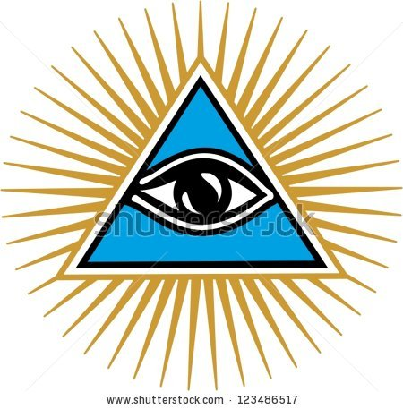 All Seeing Eye Stock Photos, Royalty.