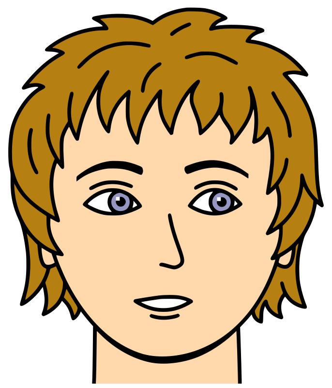 Face Images Clip Art.