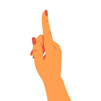 Finger Vectors, Photos and PSD files.