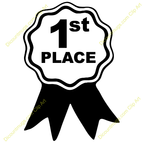 First Place Winner Clipart.