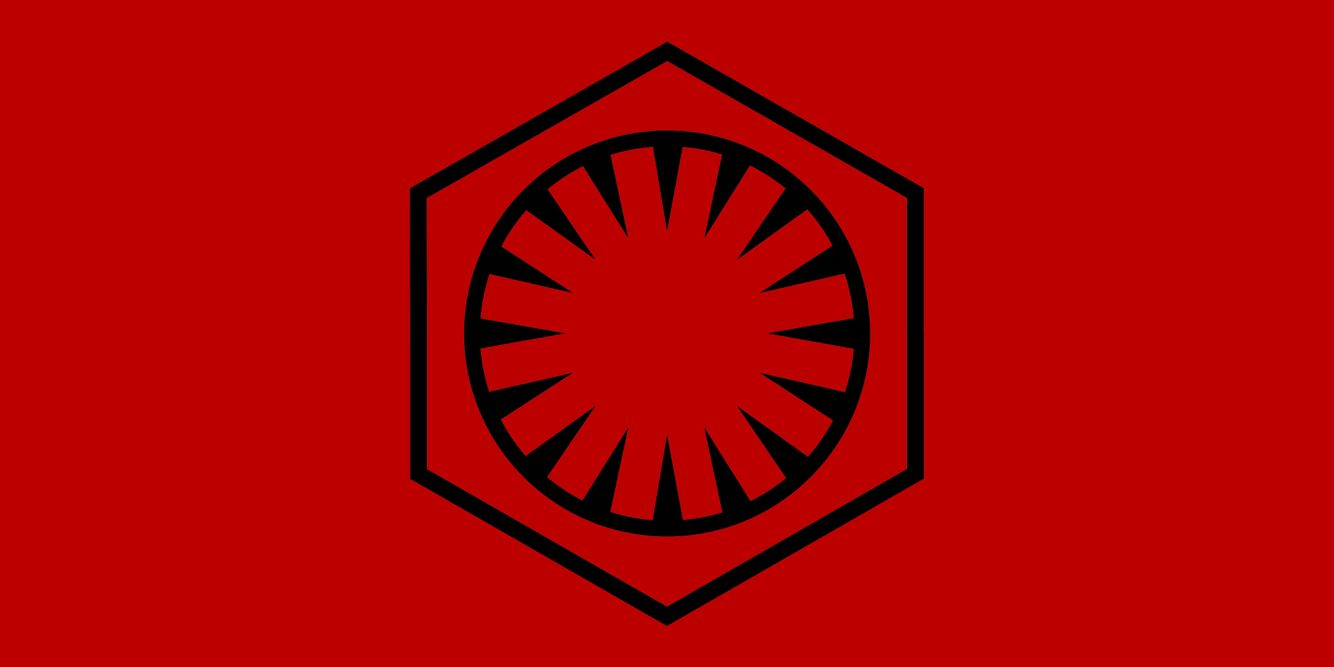 The First Order Symbol Desktop Wallpaper.