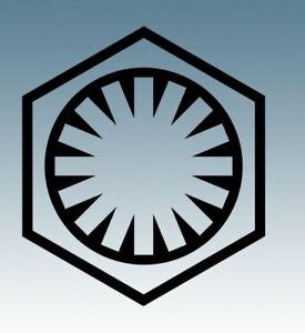 Details about Star Wars FIRST ORDER Logo.