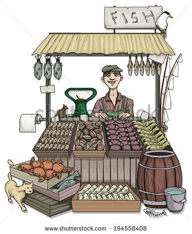 Vector market stalls free vector download (1,370 Free vector) for.
