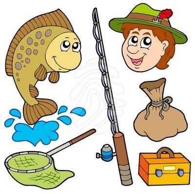 Family Fishing Clipart.