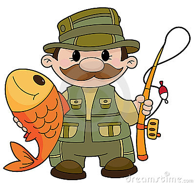 Fisherman clipart images.