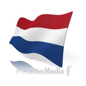 Badge of the Flag of the Netherlands.