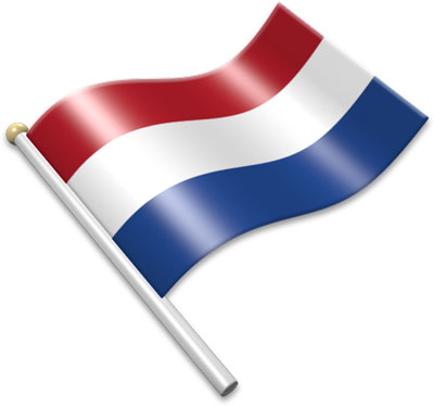 Flag Icons of Netherlands.