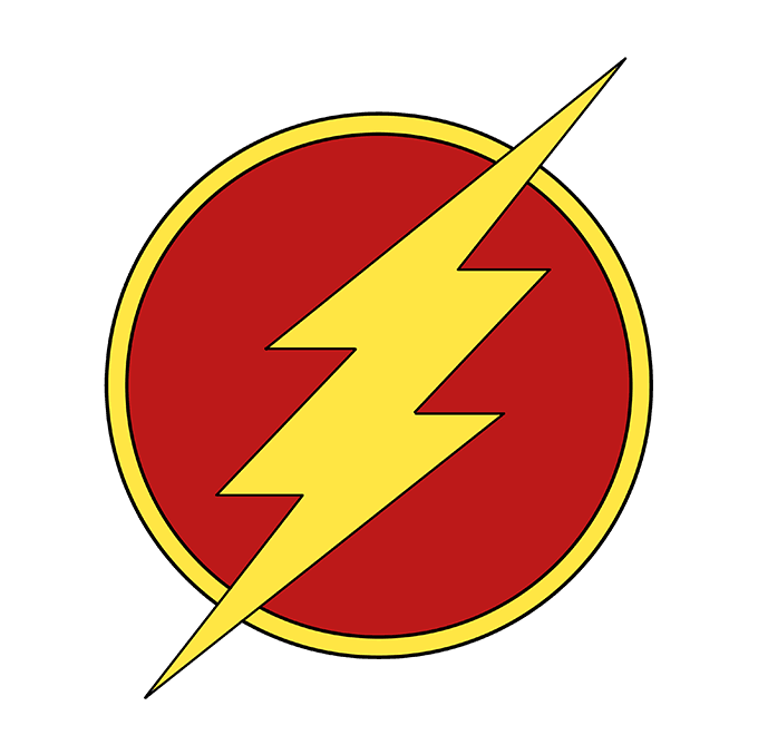 How to Draw the Flash Logo.