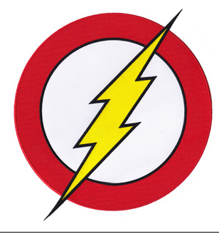 The Flash Logo Clipart.