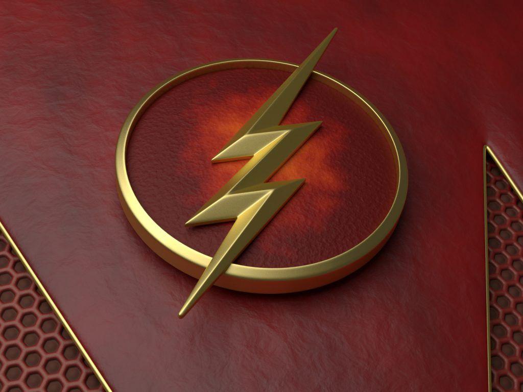 The Flash Wallpaper Logo HD.
