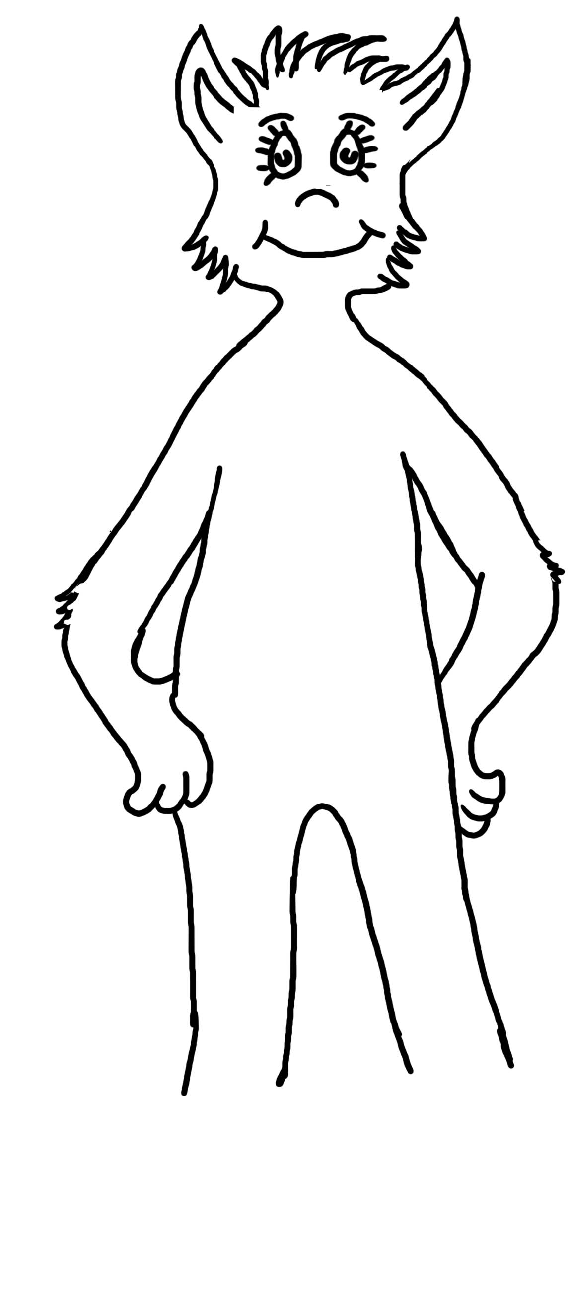 Dr Seuss Coloring Pages Foot Book.