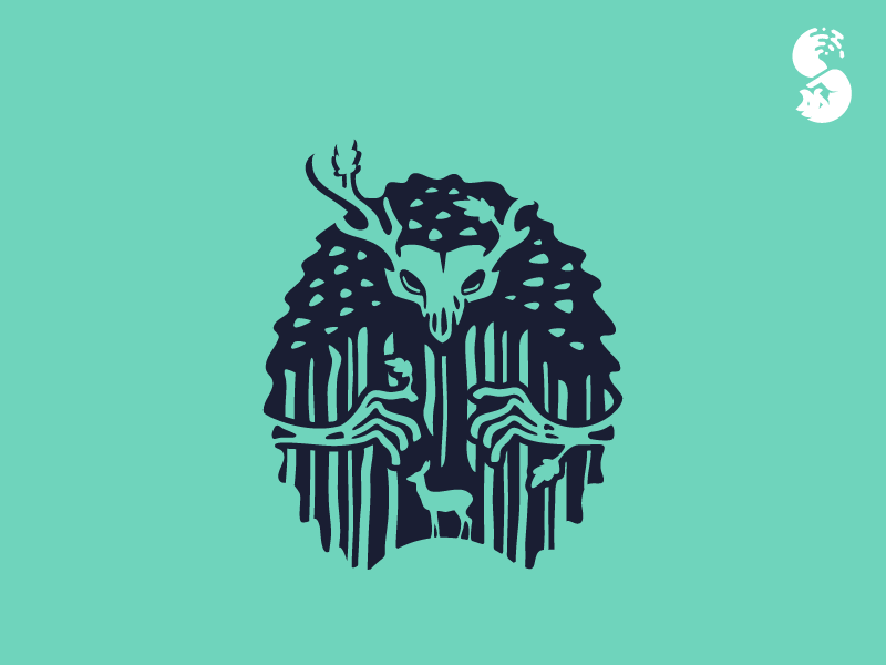 The Forest Logo by Eduardo Zaldivar on Dribbble.