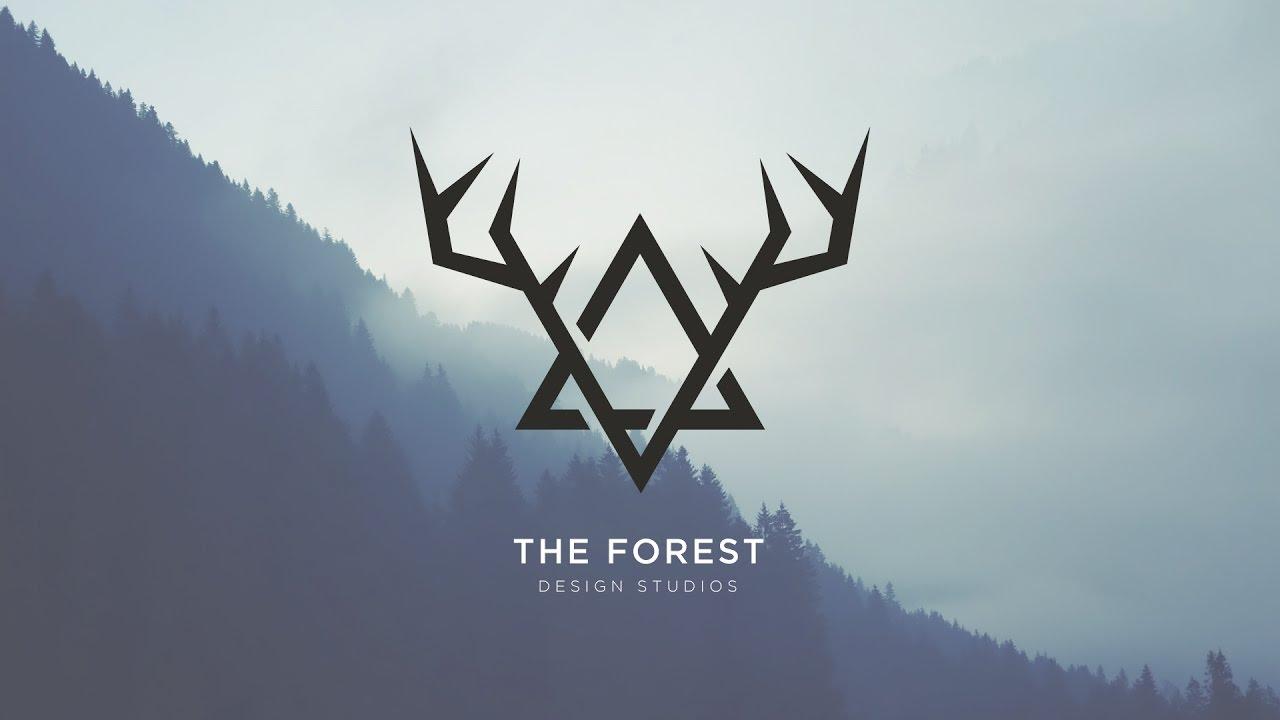 Vintage Forest 2D logo.