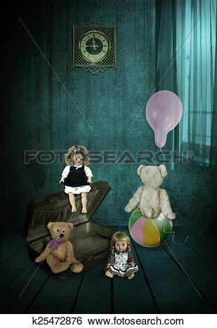 Stock Illustration of The Forgotten Toys k25472876.