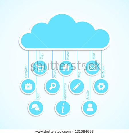 Cloud App Stock Photos, Royalty.
