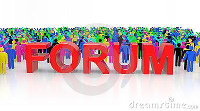 Open Forum Clipart.
