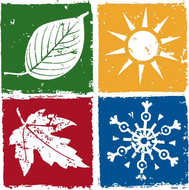 Color For All Seasons Clipart.