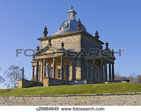 Stock Photograph of England, North Yorkshire, Castle Howard. The.