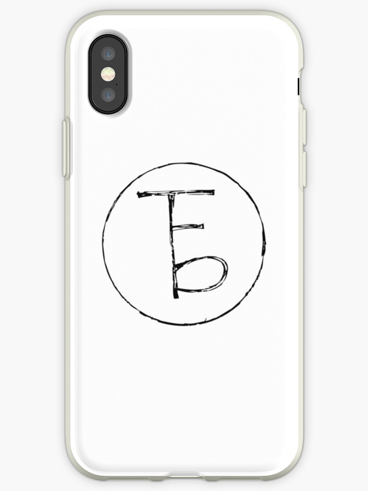 \'The Front Bottoms Logo\' iPhone Case by katiej188.