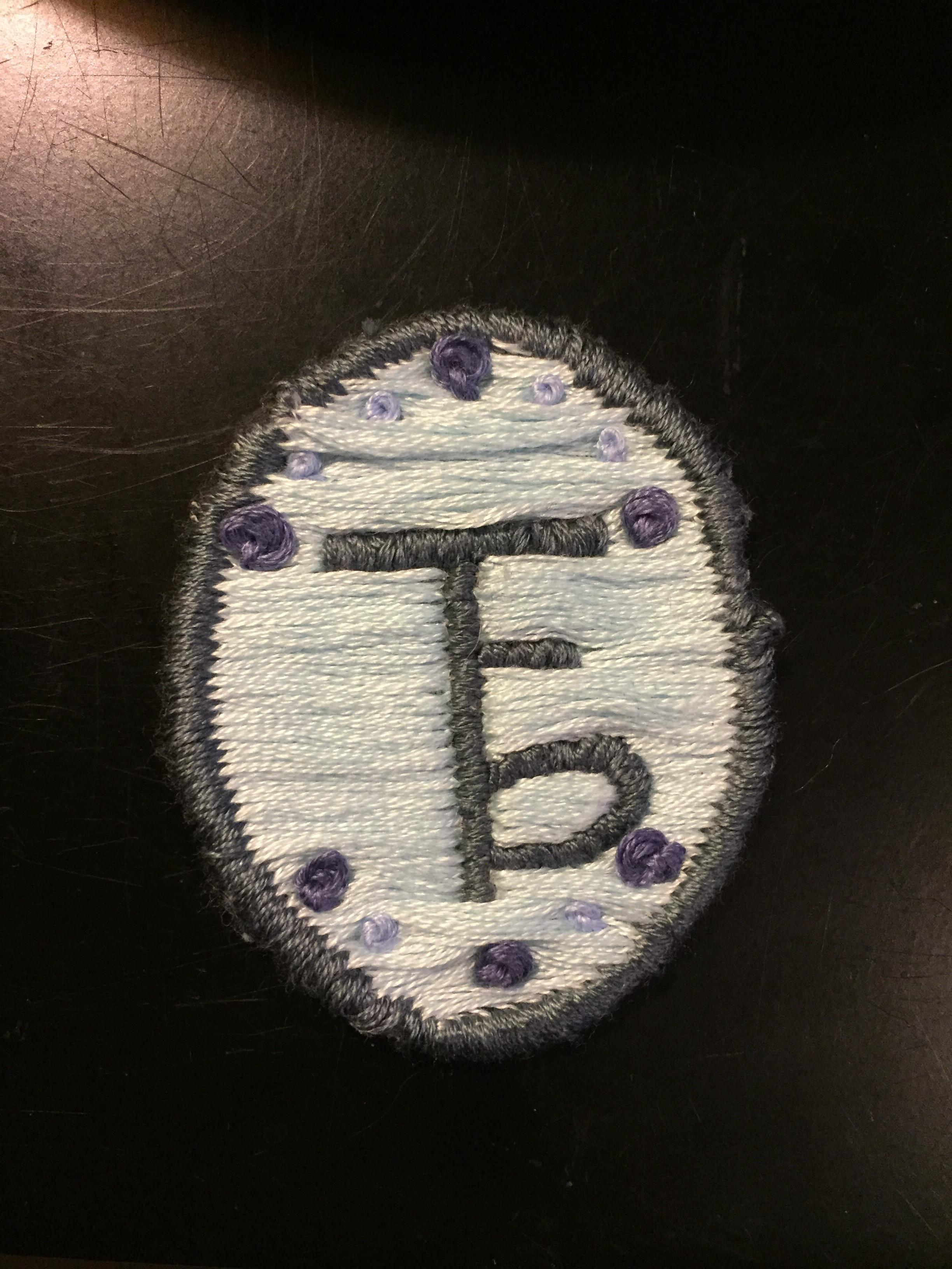 Small patch with the logo of my favorite band. The Front.