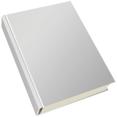 Front Cover Of A Book Clipart.
