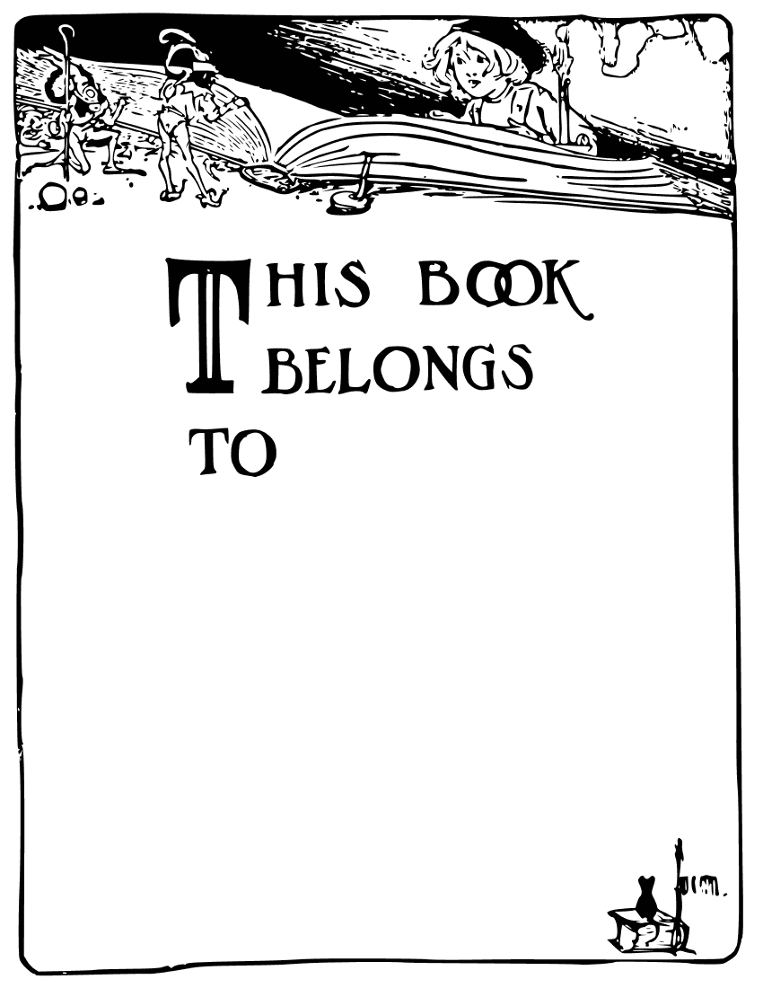 Blank Book Cover Clipart.