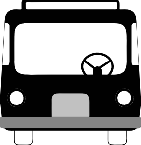 Bus Front View Clip Art at Clker.com.