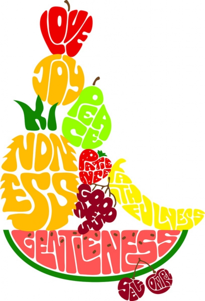 Free fruit of the spirit clip art.