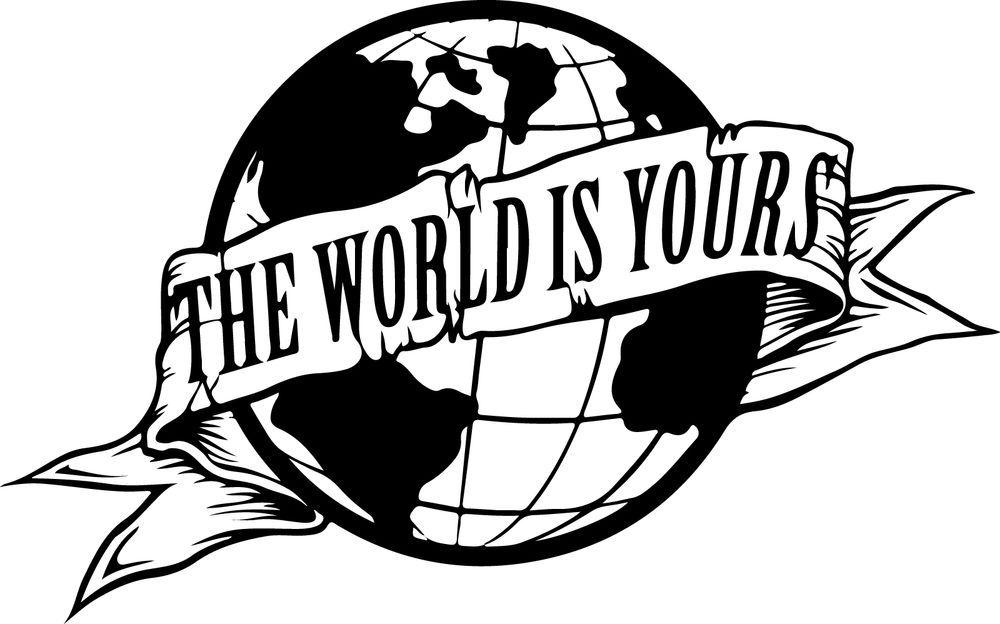 Détails sur Sticker Scarface The World is Yours.