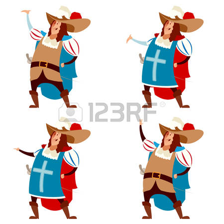 67 Musketeer Of The Guard Stock Vector Illustration And Royalty.