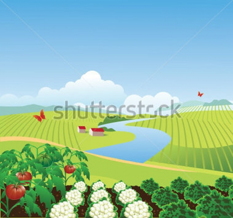 The Garden Farm Clipart Clipground