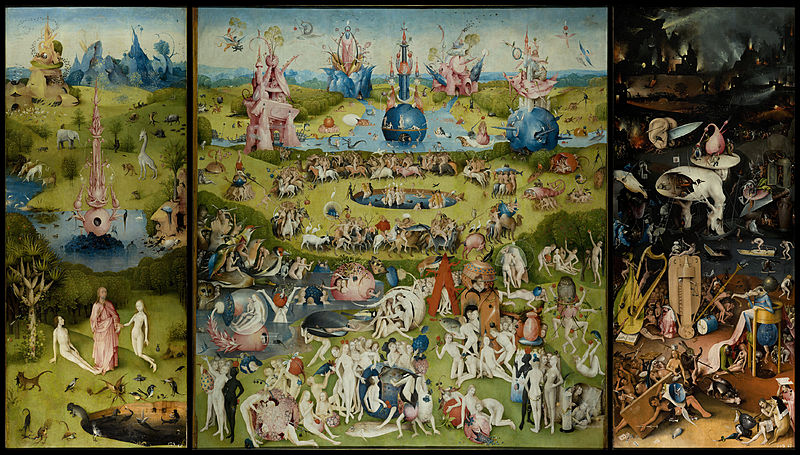 The Garden Of Earthly Delights Clipart.