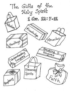 The Gifts of the Holy Spirit Posters.