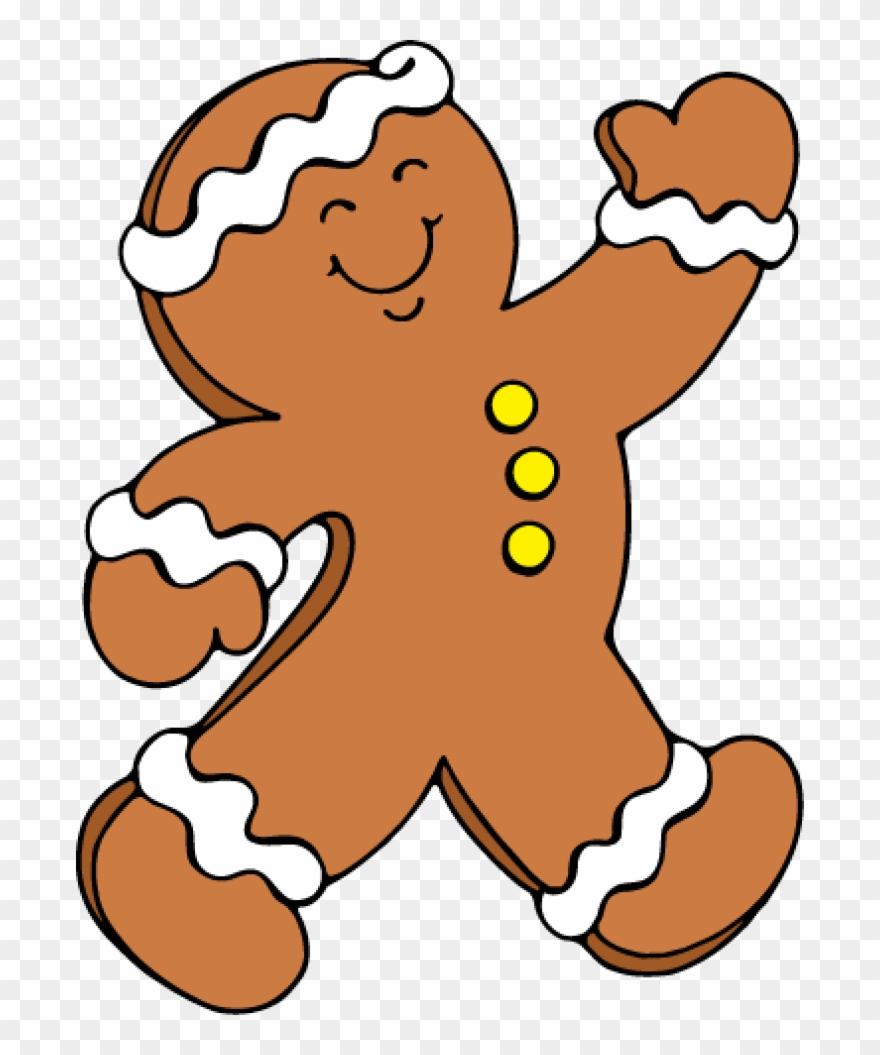 Permalink To Gingerbread Man Clipart.
