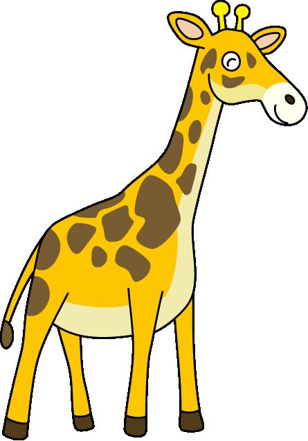 Giraffe Clipart.