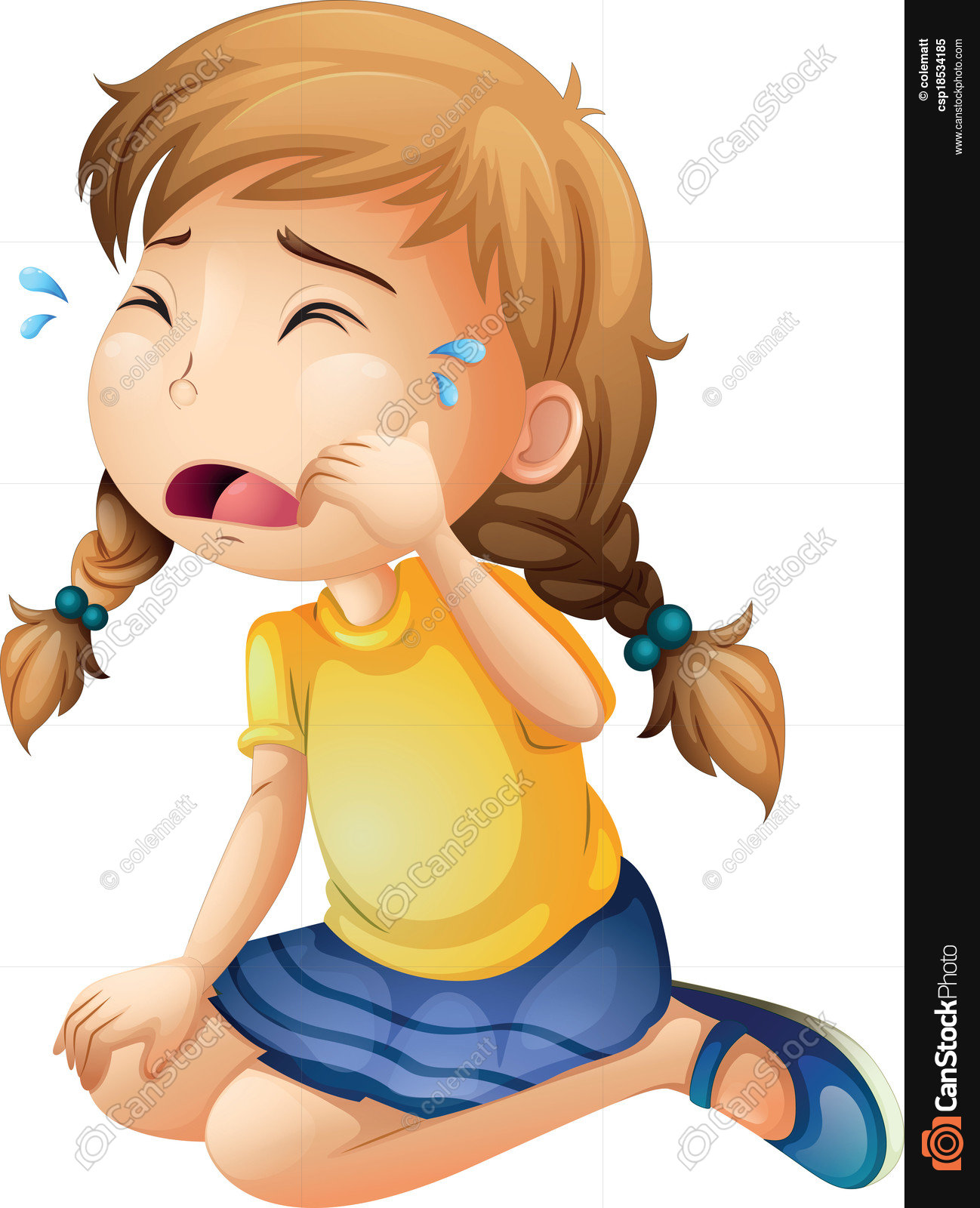 Girl crying clipart 6 » Clipart Station.