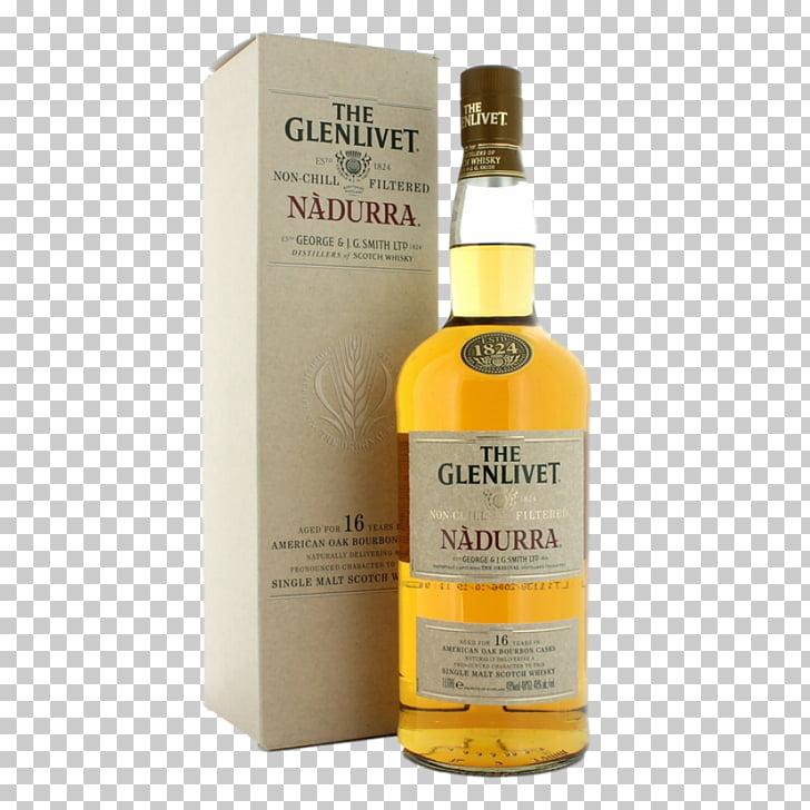 Whiskey The Glenlivet distillery Single malt Scotch whisky.
