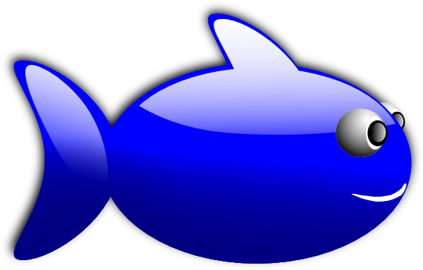 Glossy Fish Clip art.